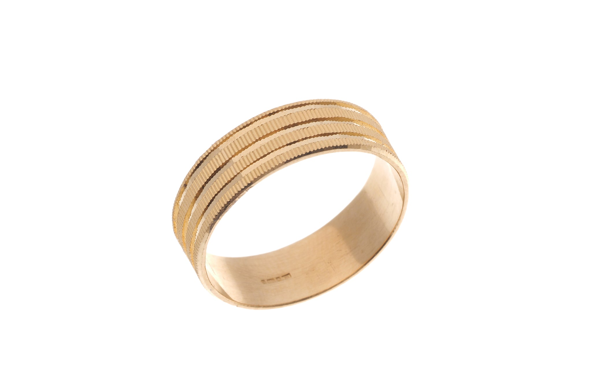 22ct Gold Gents Wedding Band (5.5g) GR-6157