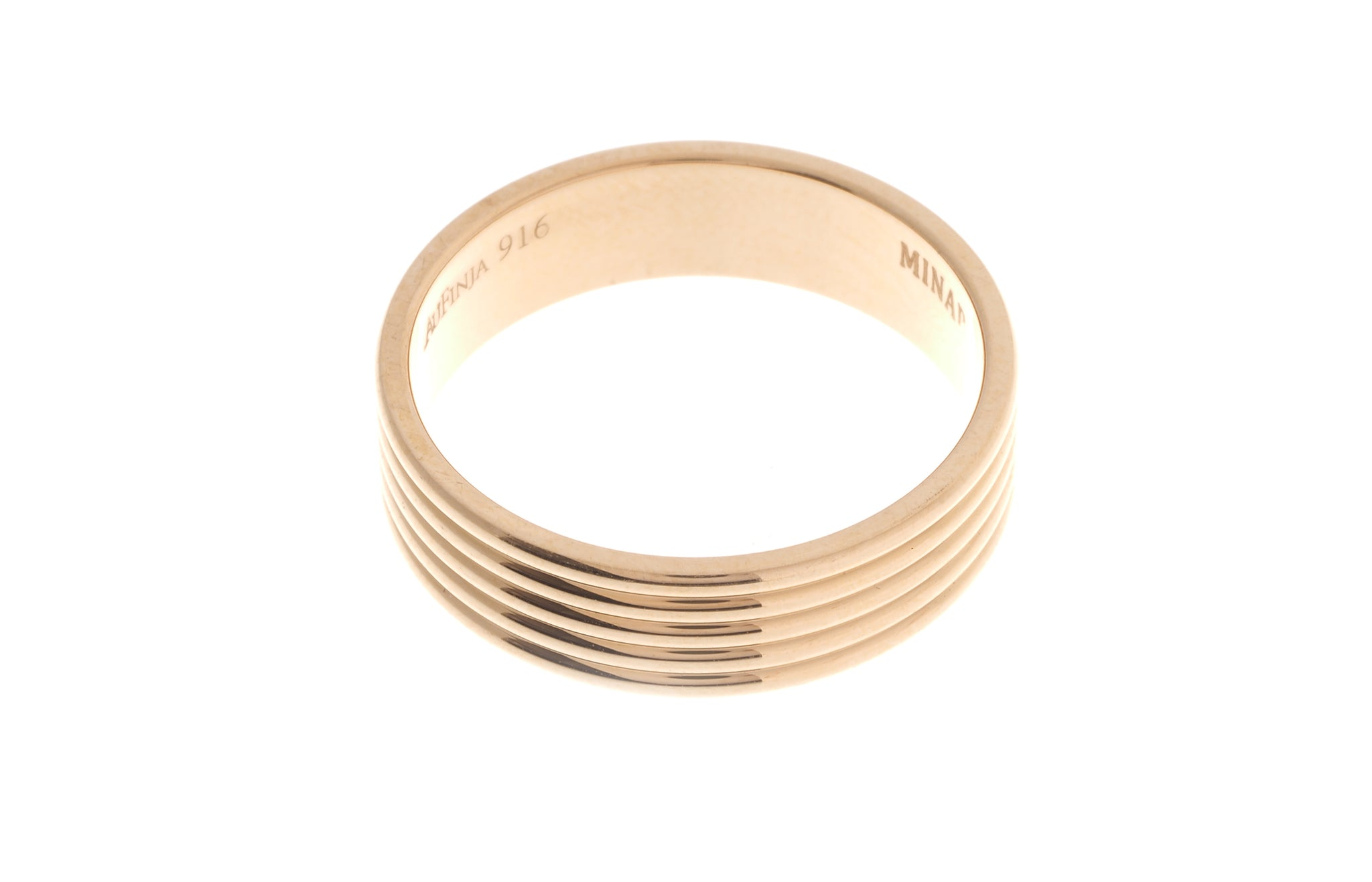 22ct Gold Wedding Band LR/GR-6934