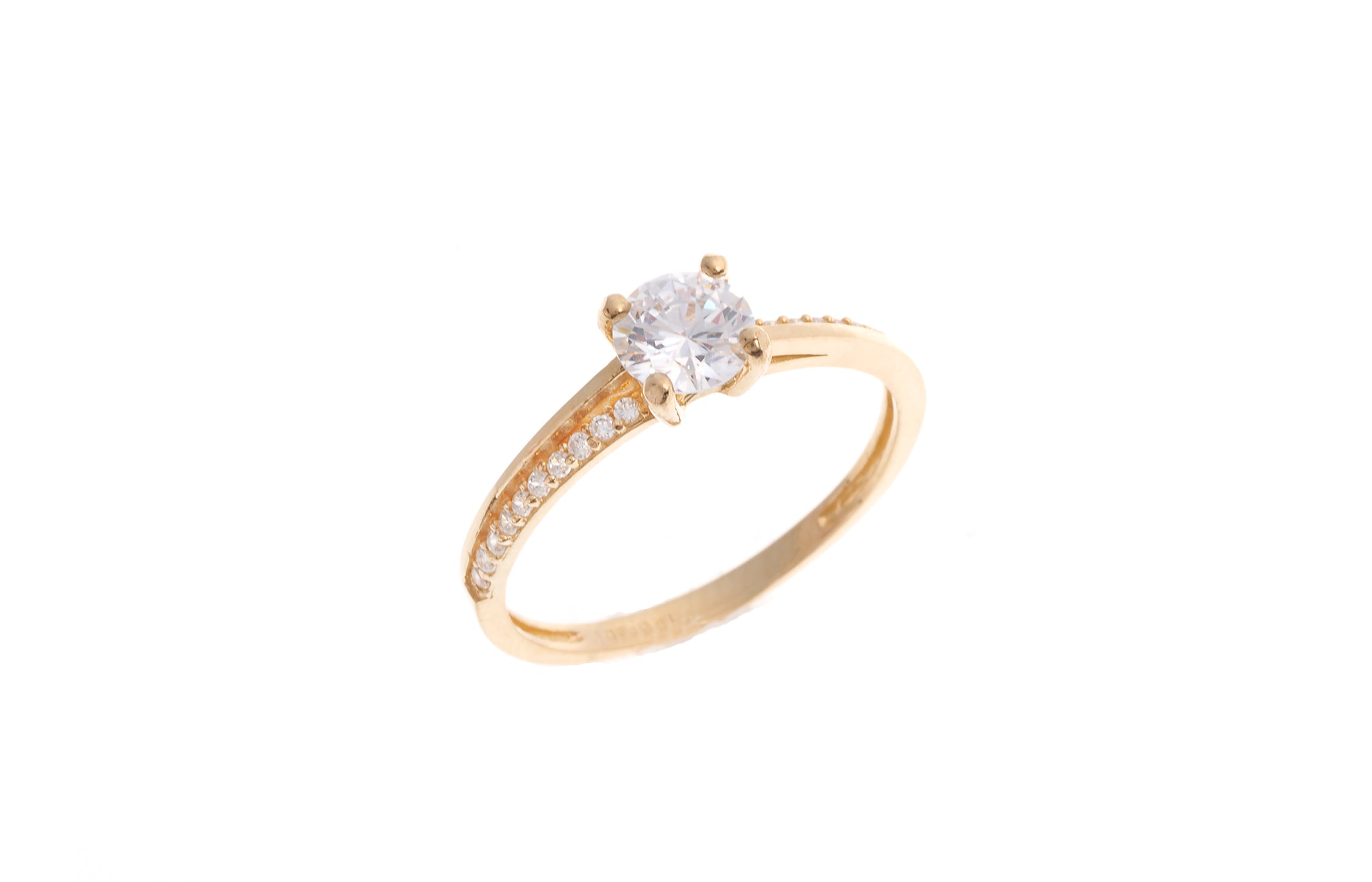 22ct Gold Engagement Rings Minar Jewellers