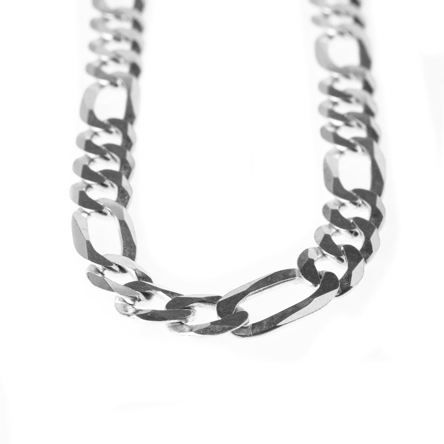 Sterling Silver Figaro Cable Chain C-5091
