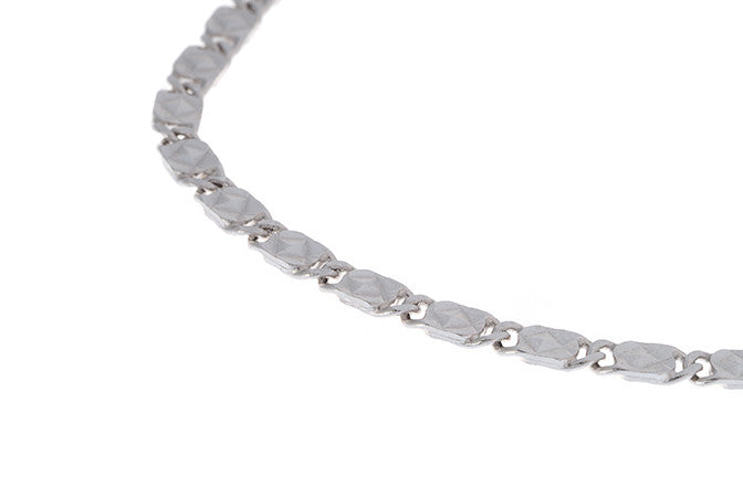 18ct White Gold Bracelet, Minar Jewellers - 1