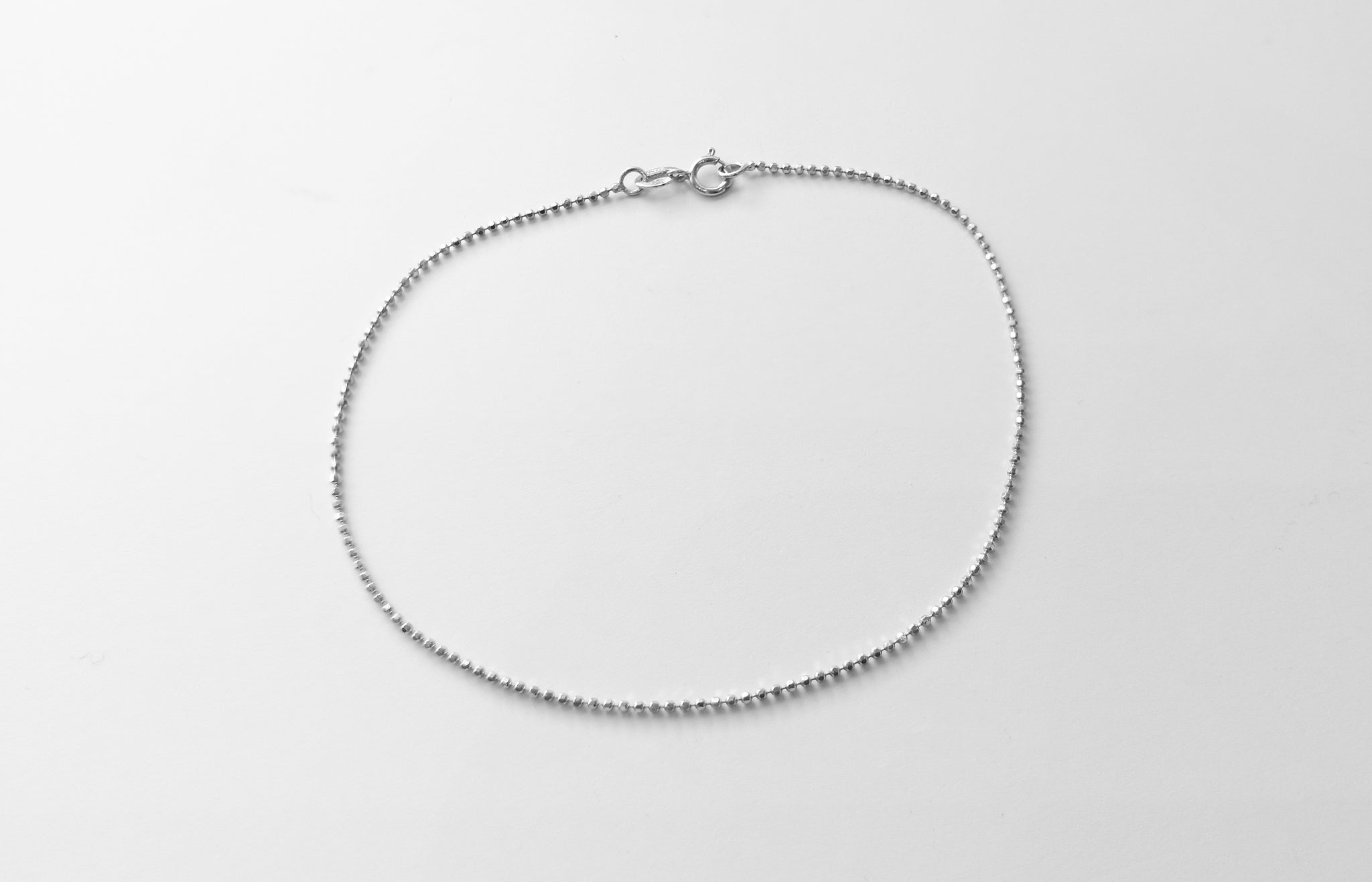 White Gold Bracelet 18ct (0.9g) LBR-5849