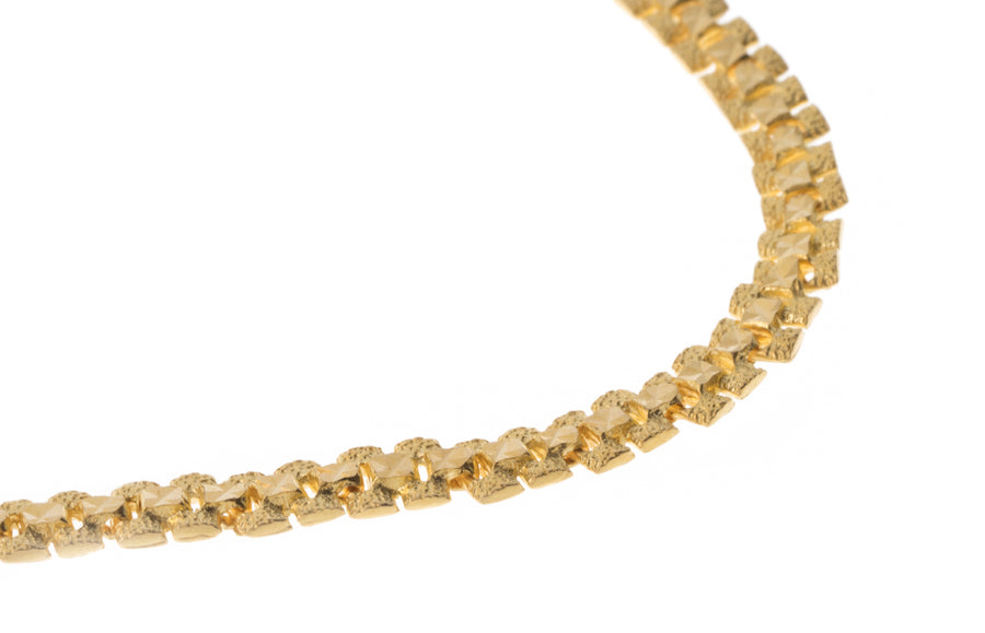 22ct Gold Bracelet (9.5g) LBR-7296