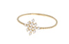 18ct White / Yellow Gold Cubic Zirconia Engagement Ring, Minar Jewellers - 1