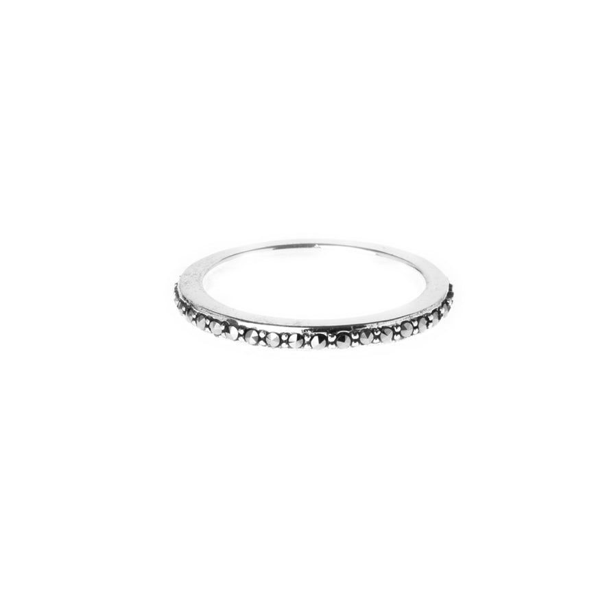 Sterling Silver Eternity Ring LR-7939