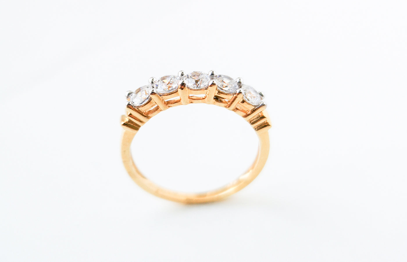 22ct Gold Eternity Ring set with Swarovski Zirconias LR14554