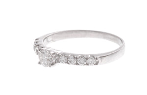 18ct White Gold Diamond Engagement Ring (KMCS1136)