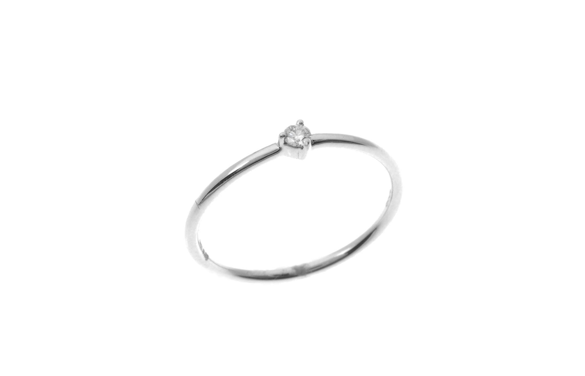 18ct White Gold Diamond Engagement Ring (MCS1862)