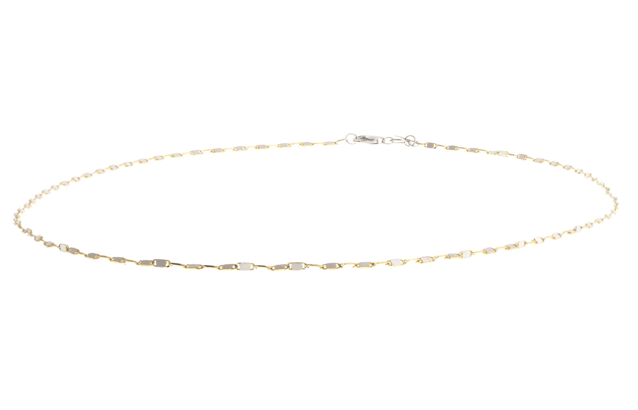 Hand Finished 18ct Two Tone Chain, Minar Jewellers - 2