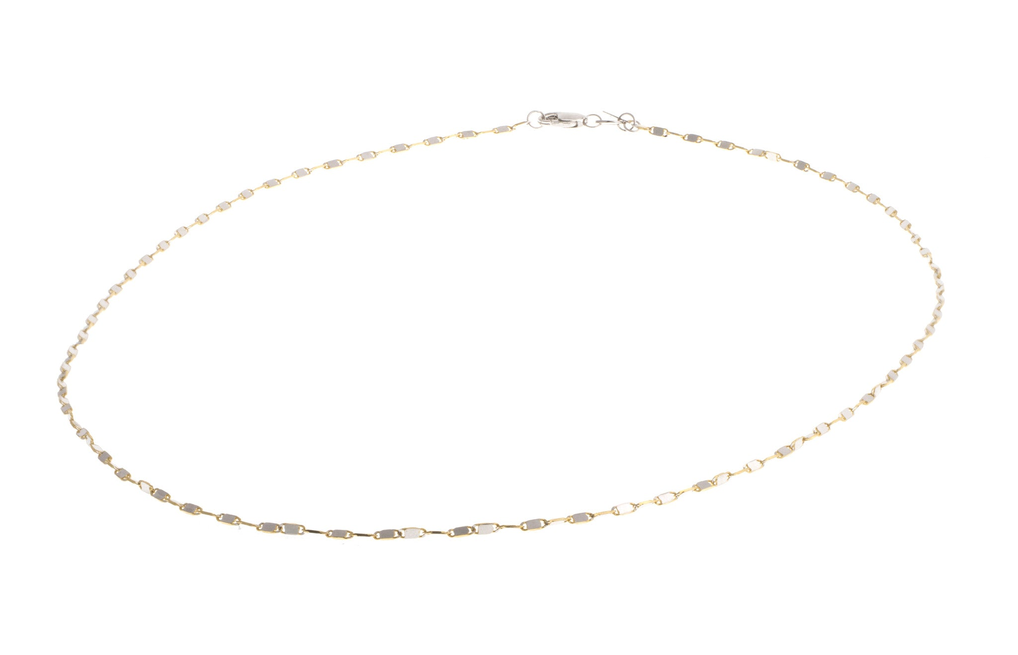 Hand Finished 18ct Two Tone Chain, Minar Jewellers - 3