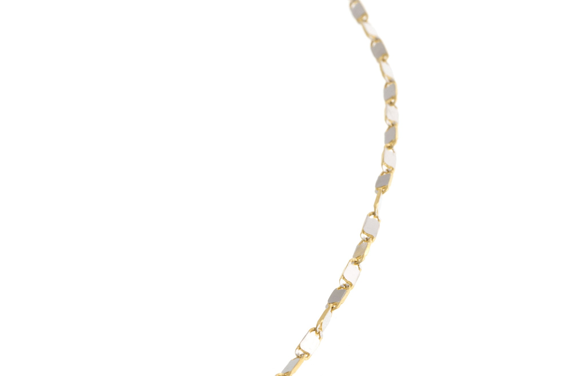 Hand Finished 18ct Two Tone Chain, Minar Jewellers - 4