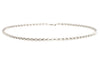 18ct White Gold Rolo Chain, Minar Jewellers - 1