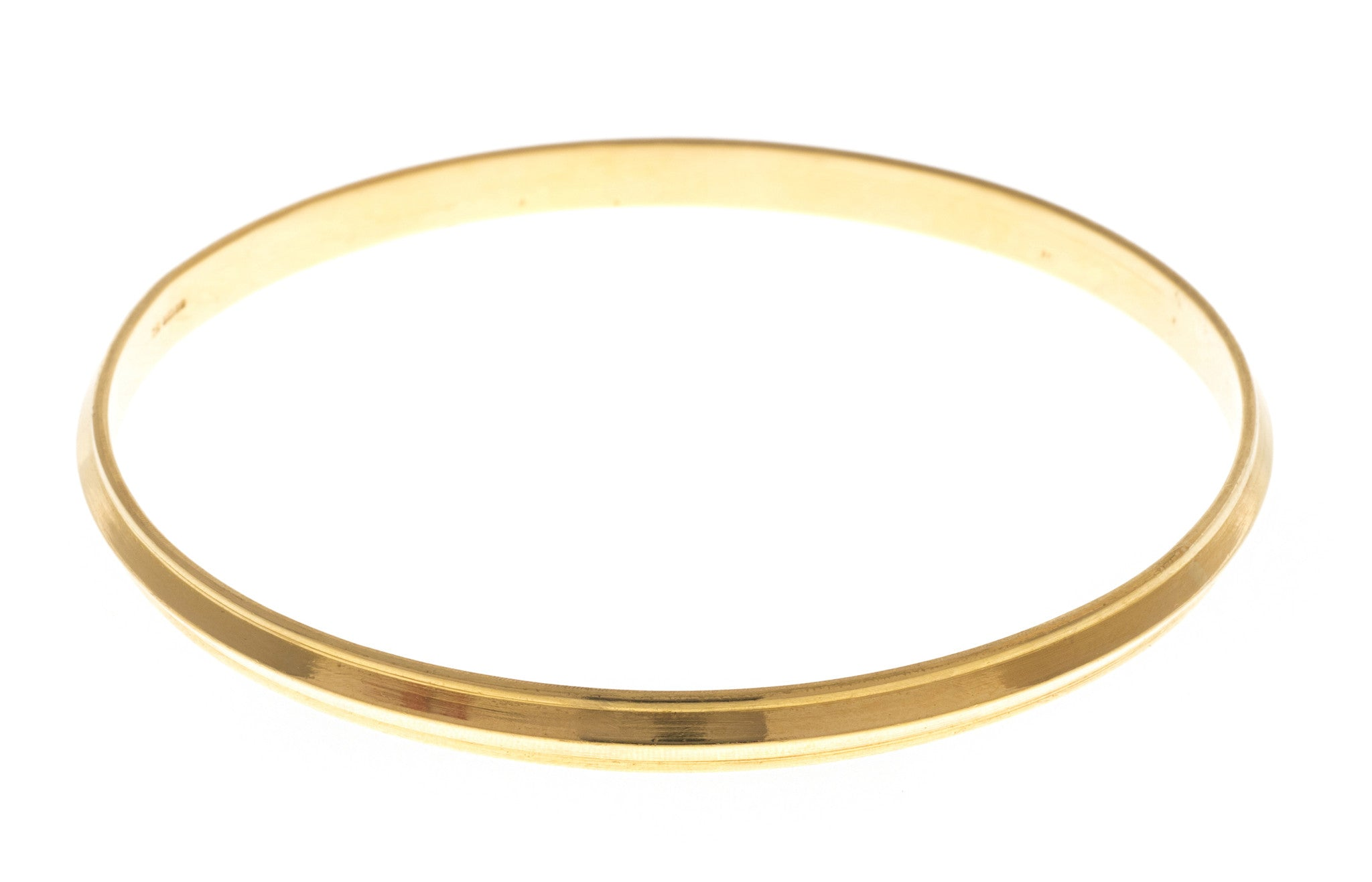 Hand Finished 22ct Yellow Gold 'Kada' Bangle, Minar Jewellers - 2