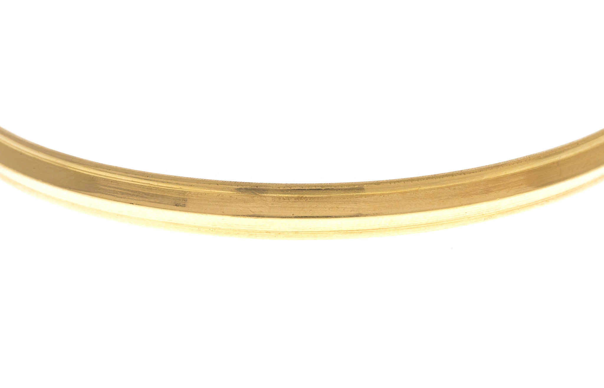 Hand Finished 22ct Yellow Gold 'Kada' Bangle, Minar Jewellers - 3