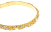 Two Hand Finished 22ct Yellow Gold Bangles with White Rhodium Plating (G1787), Minar Jewellers - 1