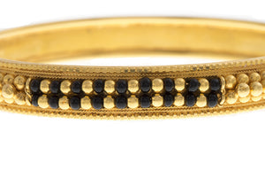 Hand Finished 22ct Yellow Gold Bangle (B-1564) (online price only)