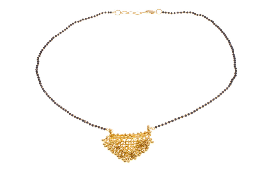 22ct Yellow Gold Mangal Sutra Necklace (MS-2086)