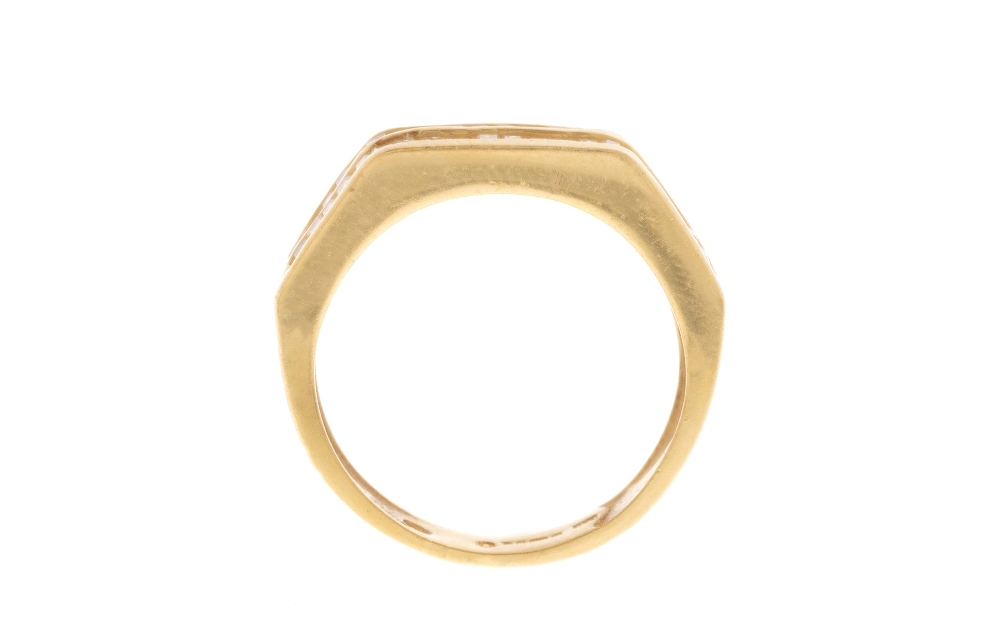 22ct Yellow Gold Cubic Zirconia Dress Ring, Minar Jewellers - 5