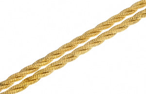 "22ct Yellow Gold 22"" Rope Chain, Minar Jewellers - 2"