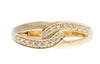 18ct Gold Cubic Zirconia Dress Ring (LR-2873) (online price only)