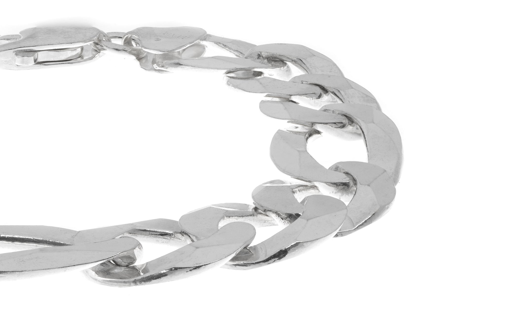 Sterling Silver Men's Bracelet (GBR-2905)