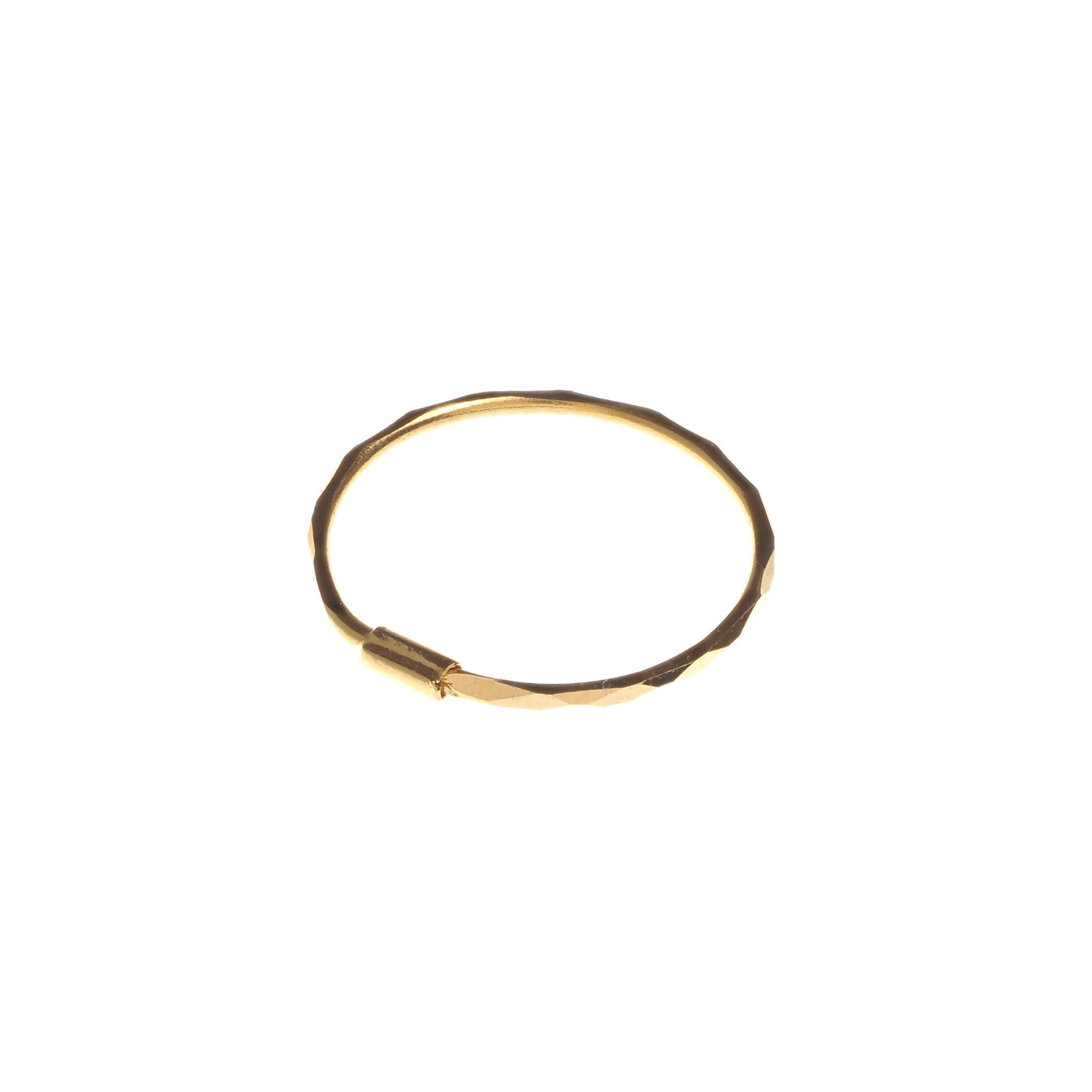 18ct Gold Nose Ring (NR-4659)