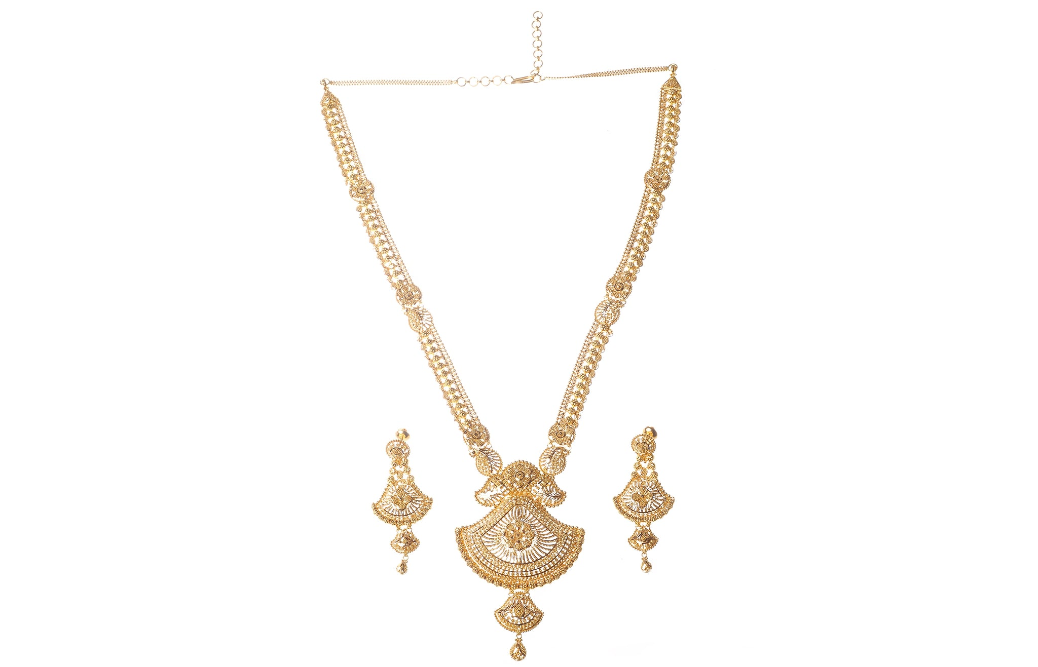 22ct Gold Necklace Sets - Minar Jewellers