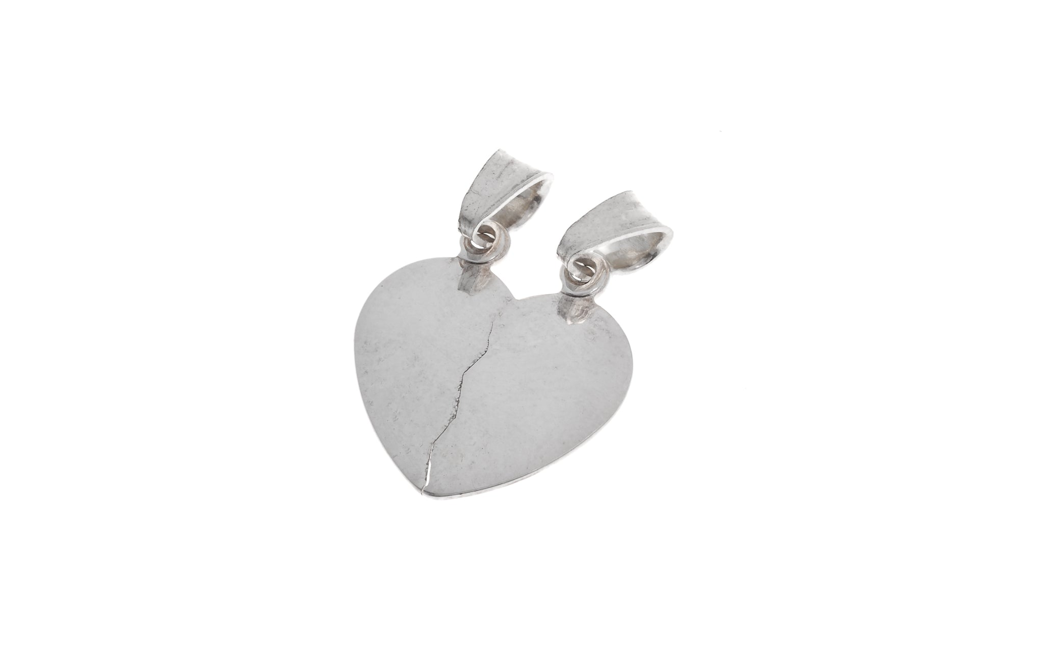 Sterling Silver Heart Pendant (P-5020)