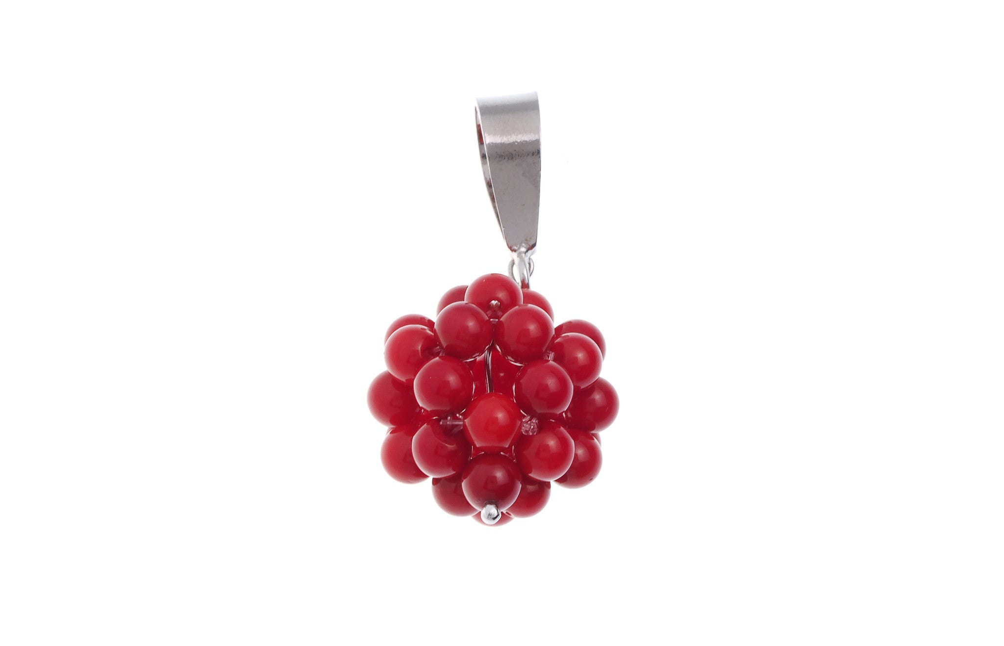 Sterling Silver Raspberry Pendant (G5368), Minar Jewellers - 2