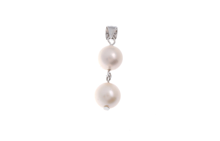 Sterling Silver Cultured Pearl Pendant (G5372), Minar Jewellers - 1