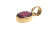 22ct Yellow Gold Ruby Pendant (P-5557)