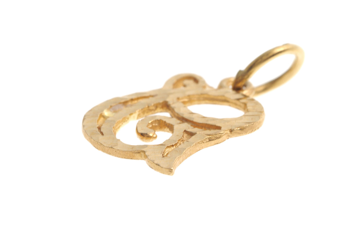 22ct Yellow Gold 'G' Initial Pendant (P-5622)