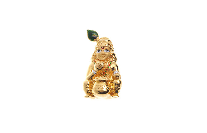 22ct Yellow Gold Bal Krishna Pendant (P-6276) (online price only)