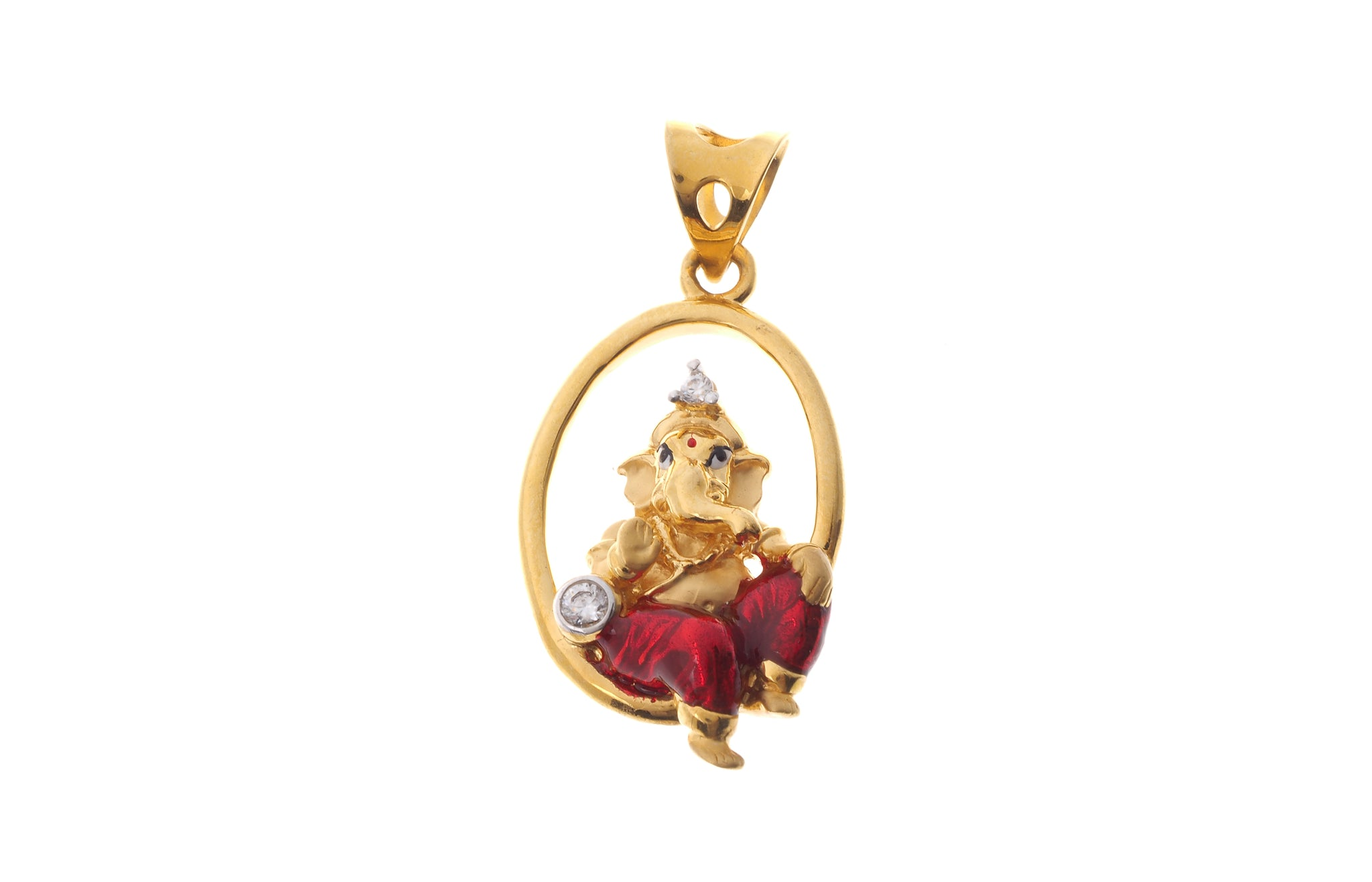 22ct gold cubic zirconia ganesh pendant p 6576 online price only 22ct gold cubic zirconia ganesh pendant p 6576 online price only mozeypictures Images