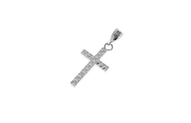 18ct White Gold Cross Pendant (0.56g) C1270-WW