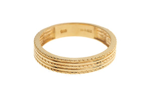 22ct Yellow Gold Wedding Band (PLR15059)
