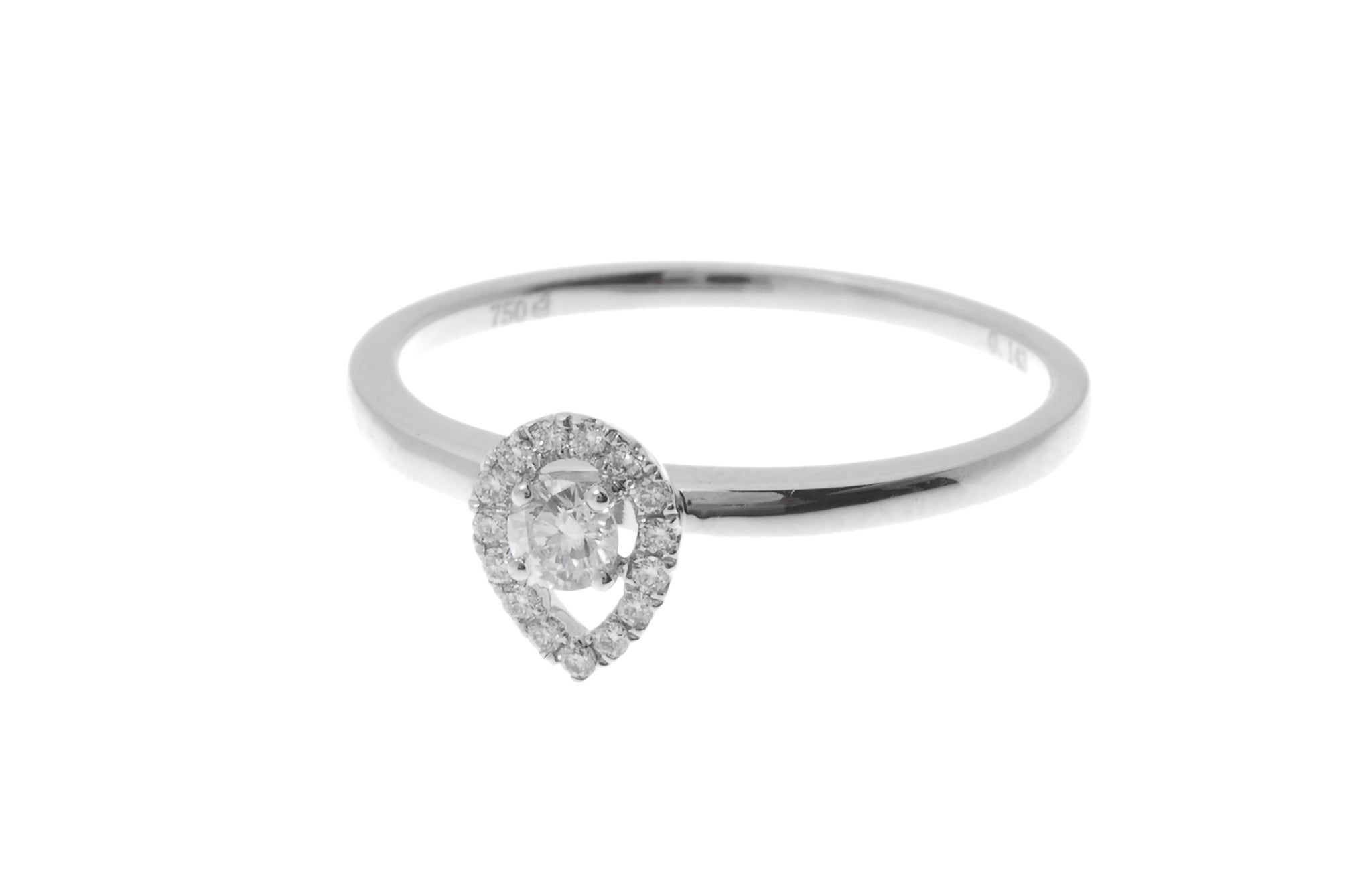 18ct White Gold Diamond Dress Ring (R32455-3021)