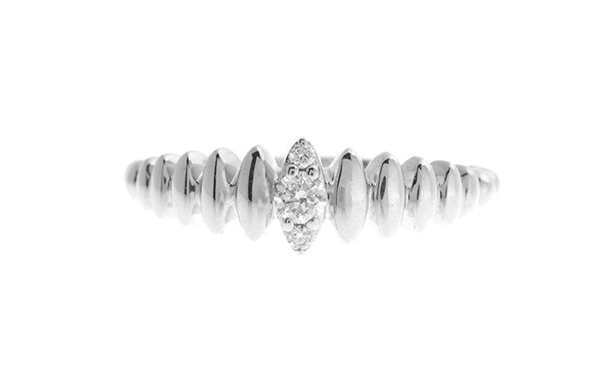 18ct White Gold Diamond Ring (R382893003)