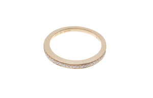 18ct Yellow Gold Diamond Half Eternity Ring (R40120B-3005)