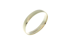 18ct 'Champagne' Yellow Gold Court Wedding Band R/WBUFDCham