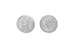 Sterling Silver Coin featuring Lakshmi and Ganesh (SLG5-10-20)
