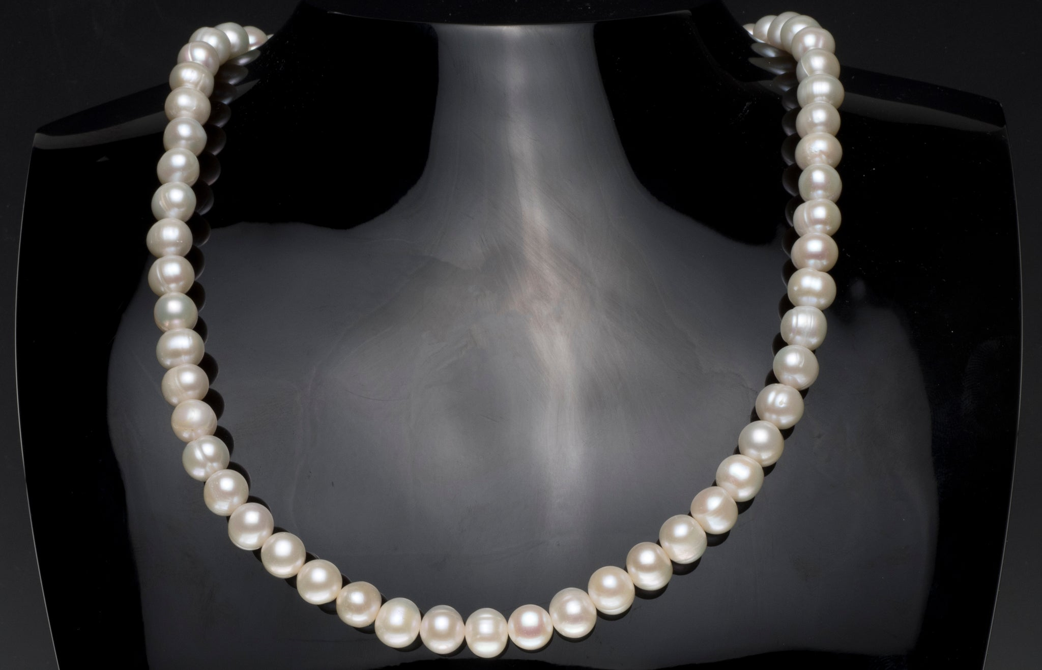 Cultured Pearl 7-8mm Necklace with Sterling Silver Magnetic Clasp SWZP7-8