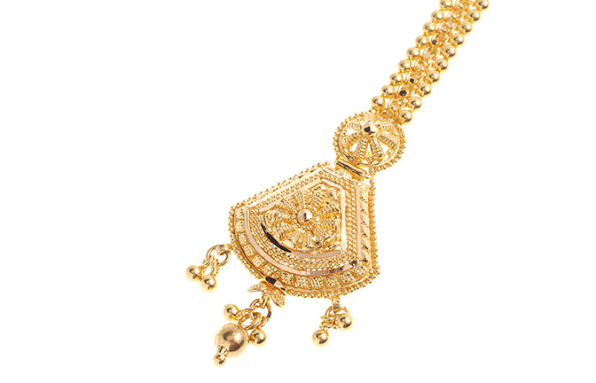 22ct Gold Tikka (T-6245) (online price only)