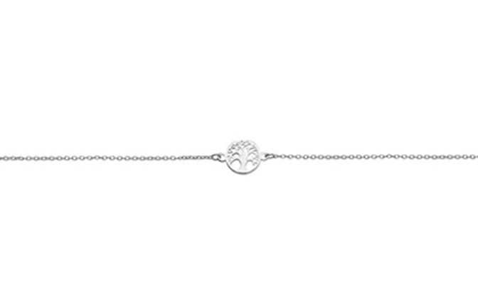 Sterling Silver Tree of Life Bracelet SBR252B