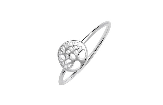 Sterling Silver Tree of Life Ring SR103C