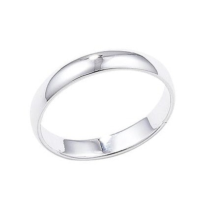 Sterling Silver Wedding Band SR171A