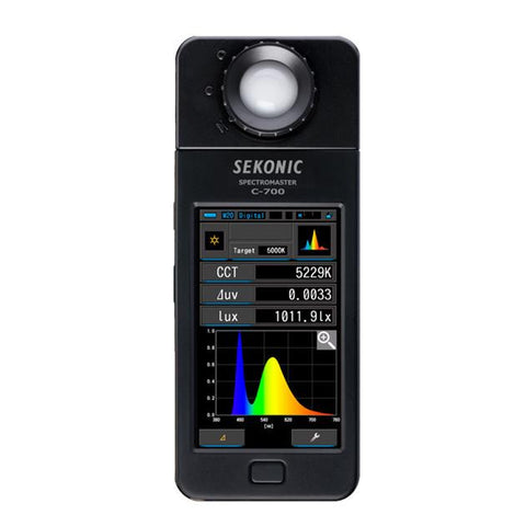 SEKONIC C-700 Spectromaster / Color Meter