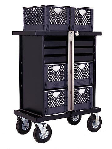 BACKSTAGE 4-Crate Set Box Cart - Vertical