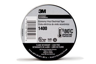 Economy Electrical Tape 3/4 in x 66 ft