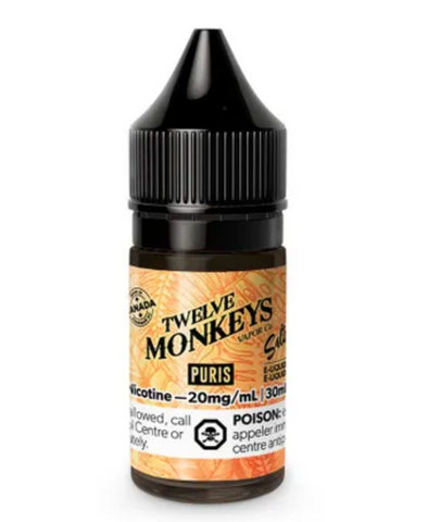 12 Monkeys Salt Nic Puris